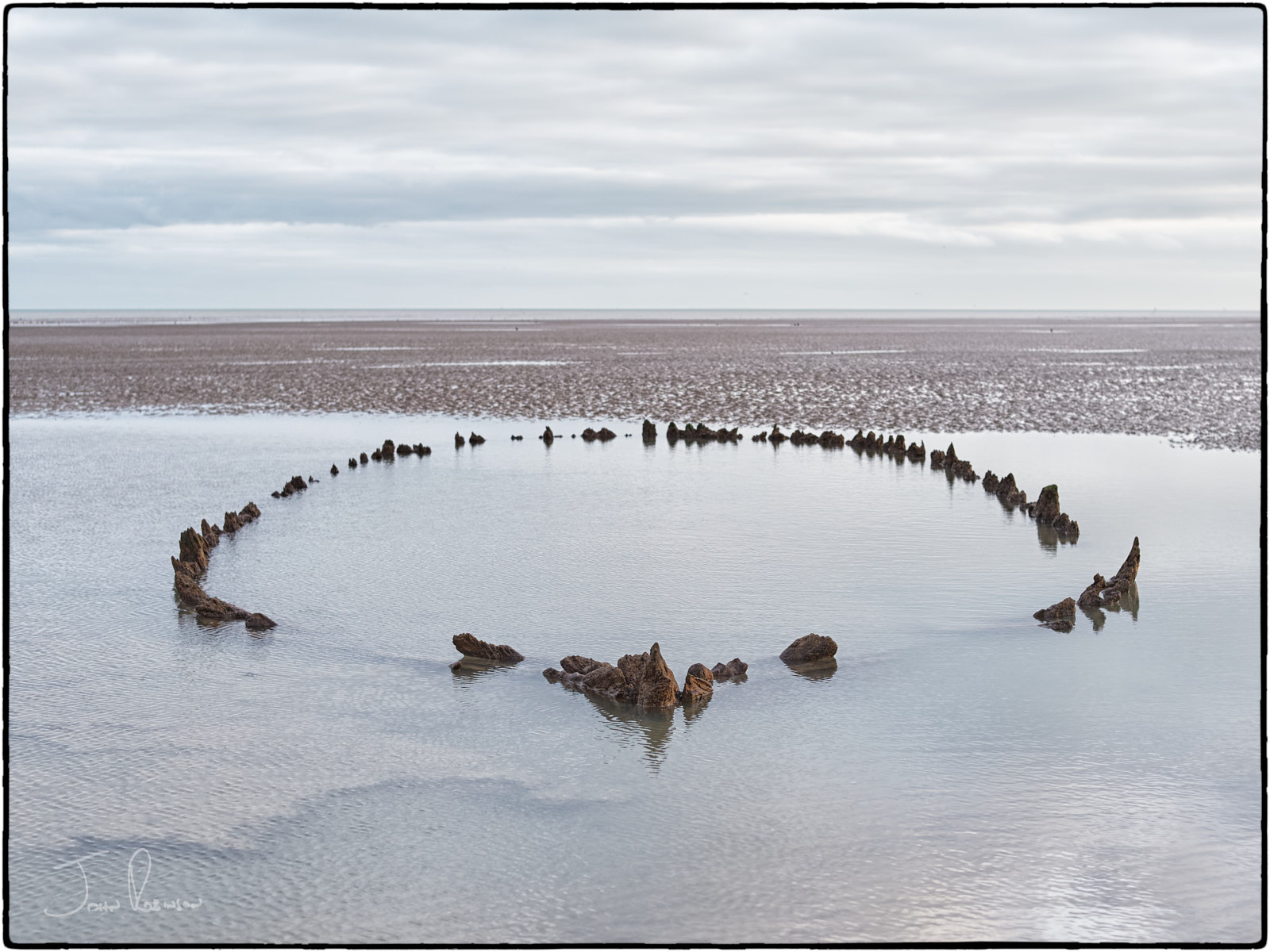 Ancient Wreck, Sandwich Bay, Kent