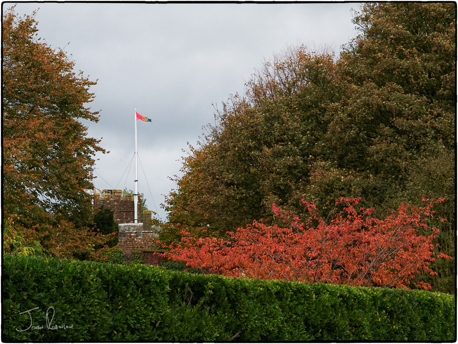 Autumn at Walmer Castle, Kent UK