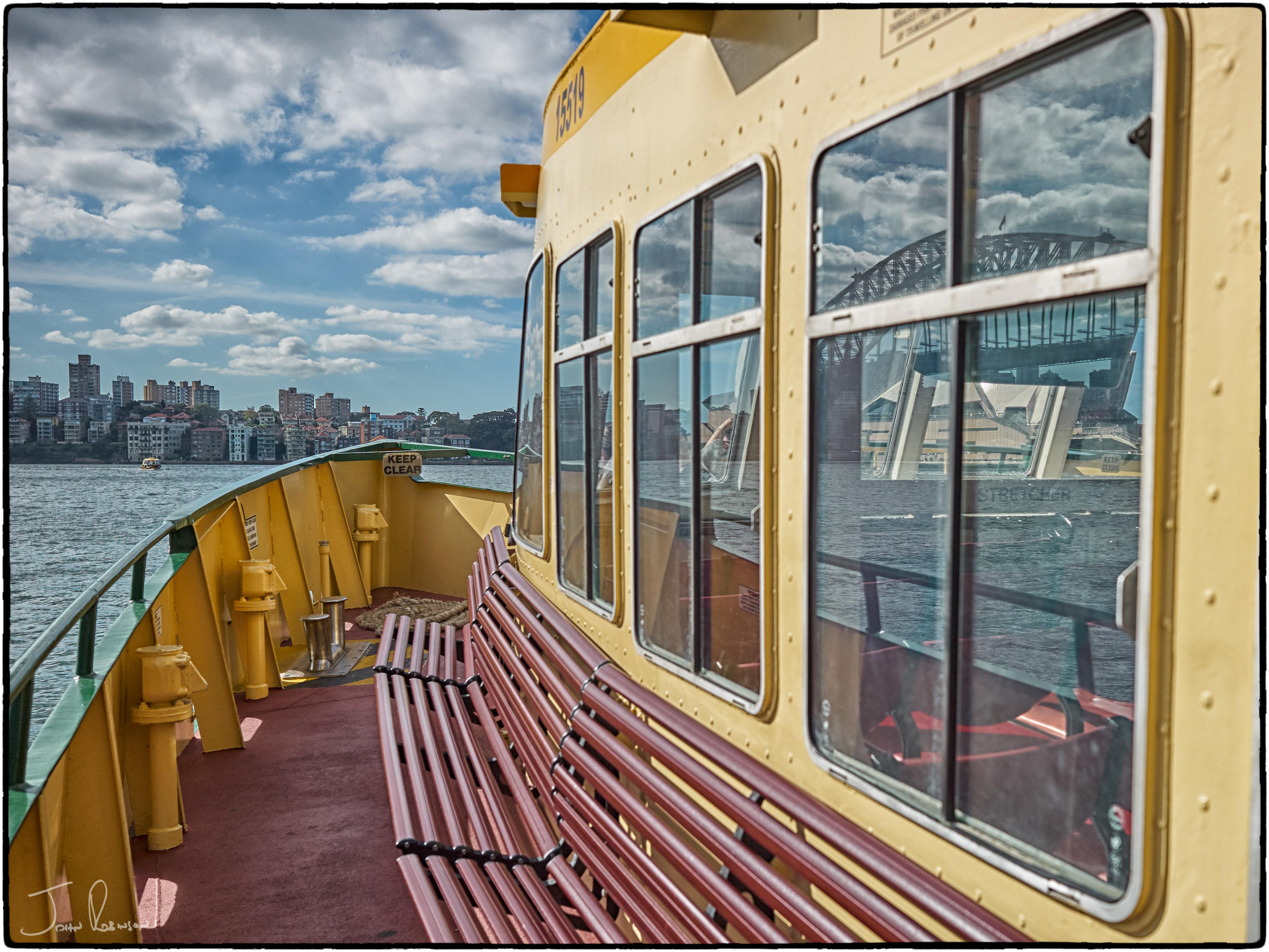 Sydney by ferry