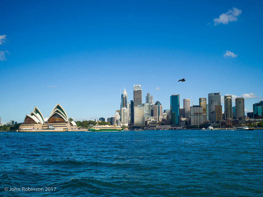 Sydney Harbour from a ferry