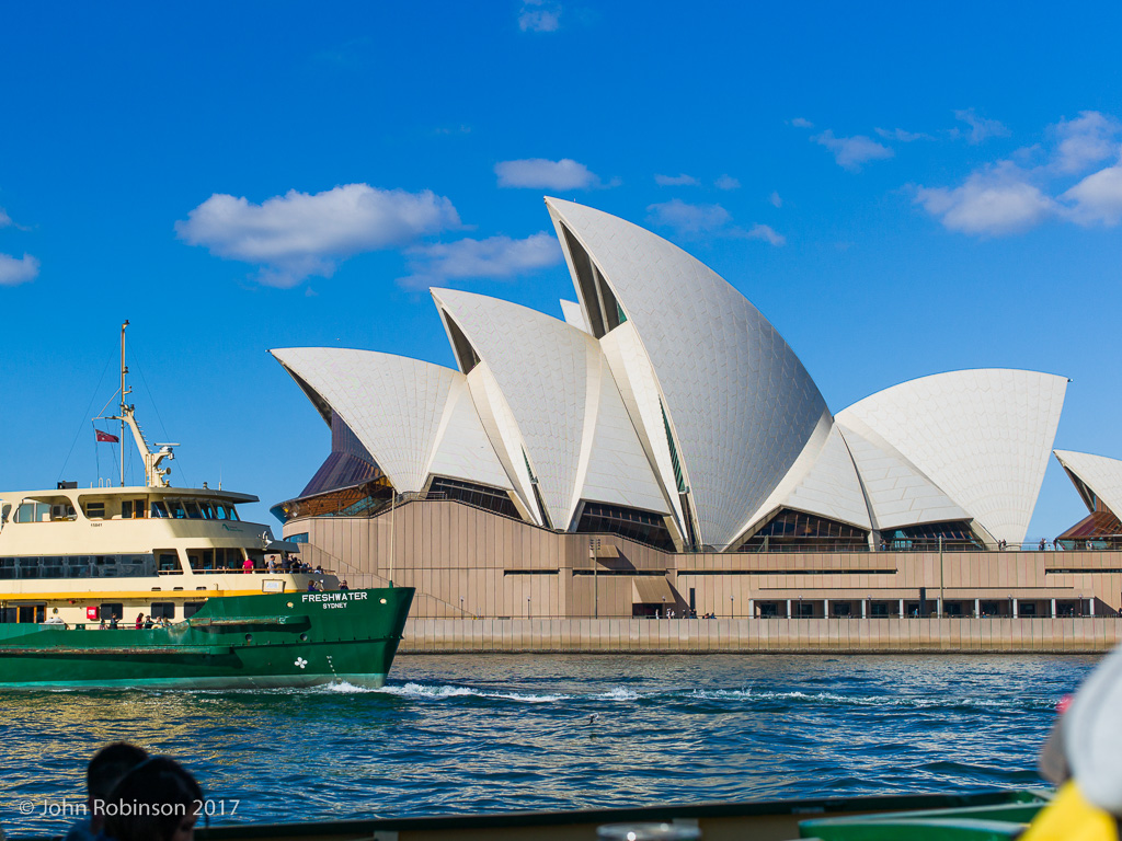 Opera House and ferry